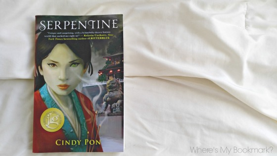 Serpentine by Cindy Pon is the first book in the Kingdom of Xia duology, her second series in this spell-binding world. Skybright is a young teen coming to terms with her growing 'otherness'.