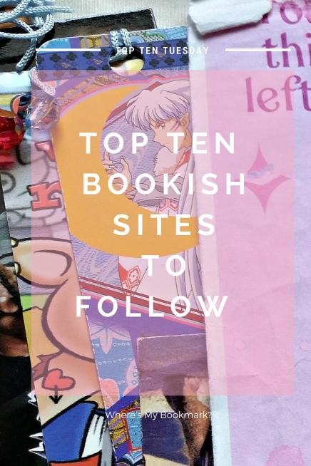 top ten bookish sites to follow