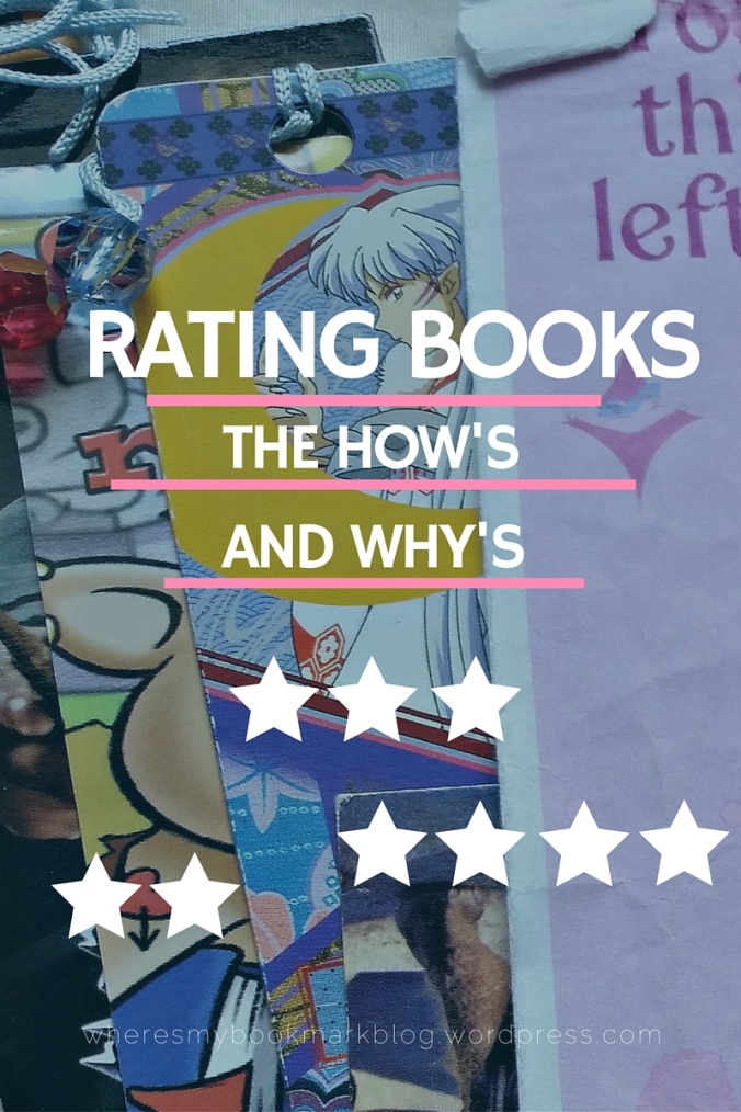 blog post- why do we rate books with stars