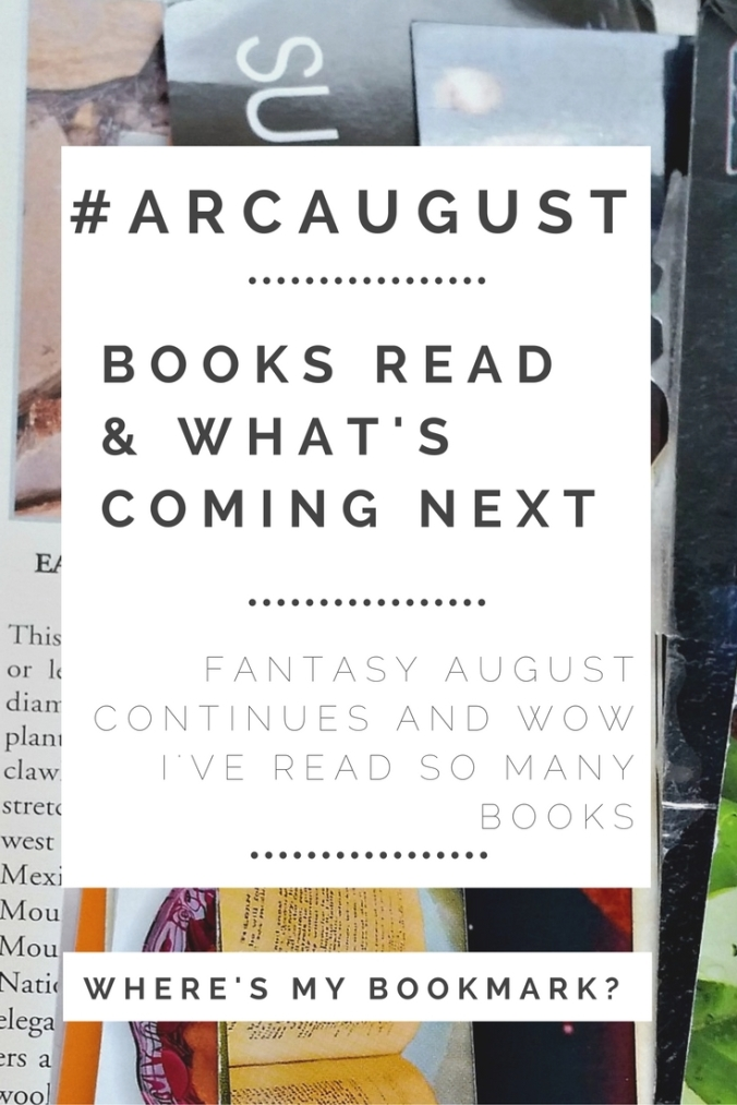 ARC August week 3 to 4