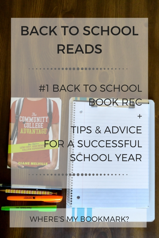 back to school reads blog graphic