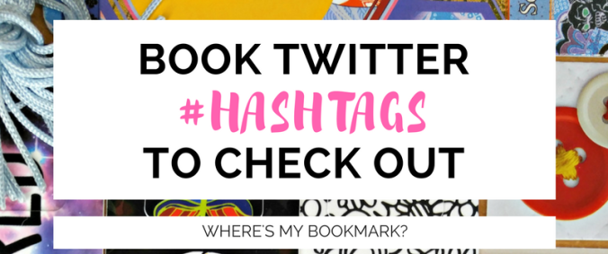 book twitter hashtags to check out