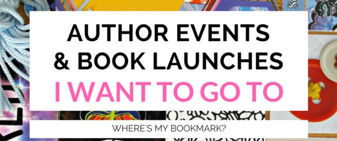 author events & book launches