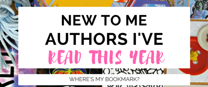 new to me authors